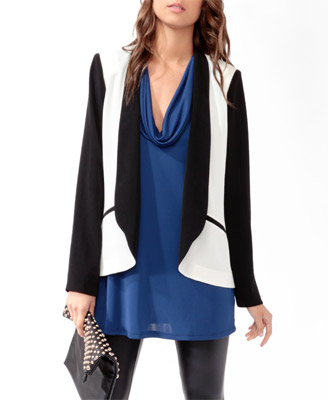 Color Blocked Blazer www.forever21.com