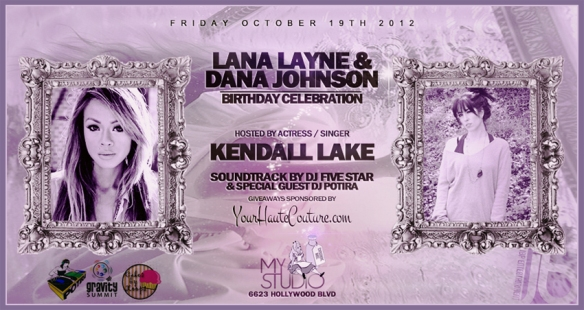 Lana Layne's Birthday Invite